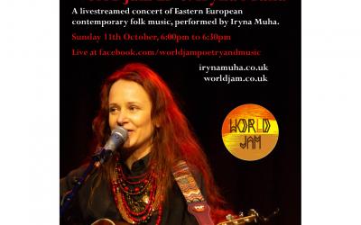 World Jam Live: Iryna Muha