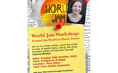 ## SOLD OUT! ##  World Jam Workshop: Around the World in Poetic Forms