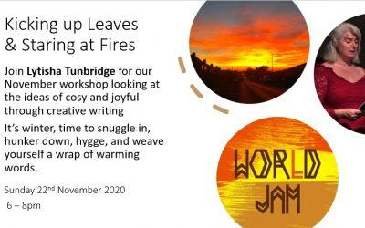 World Jam: Kicking up Leaves & Staring at Fires